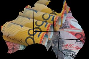 Experts say the Aussie dollar needs to fall further against major currencies.