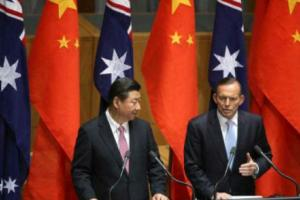 Jinping and Abbott have an MoU on a FTA