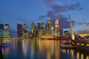Singapore went from economic strength to economic strength in 2014