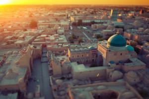 Uzbekistan is bucking a regional negative economic growth trend.