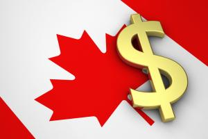 The Canadian dollar may be turning lower against the U.S. dollar.