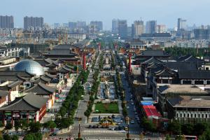 China's city Xi'An expecting growth to slow long term despite early stimulus.