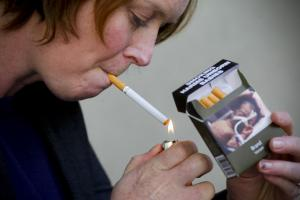 The plain packaging of cigarettes is not so plain.