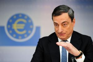 Draghi's Comments to the Markets Don't Create Much of a Stir