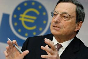 All eyes and ears on Draghi today
