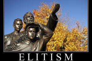 Elitist Nonsense - Shattered by Paul Krugman