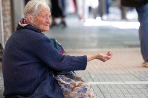 Greece Poor Homeless Elderly