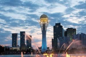 China increases influence in Kazakhstan as Russia's presence wanes.