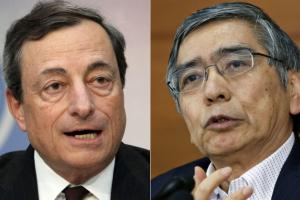 The ECB meets next week, the BOJ this week.