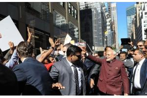 Modi Takes to the U.S. Streets During Visit