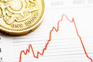 Market forces are weighing heavily on the pound to begin the new year.