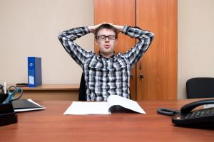 Is the solution to a sedentary job as simple as standing up?
