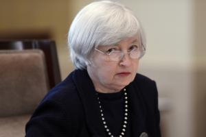 The dollar is more bid than offer ahead of Yellen.