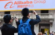 Alibaba goes where after its IPO?