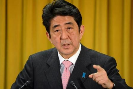 Abe expands Japan's foreign policy focus to the Middle East.