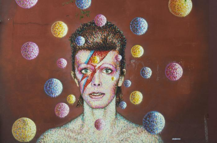 David Bowie was a musician who became a brand and icon.