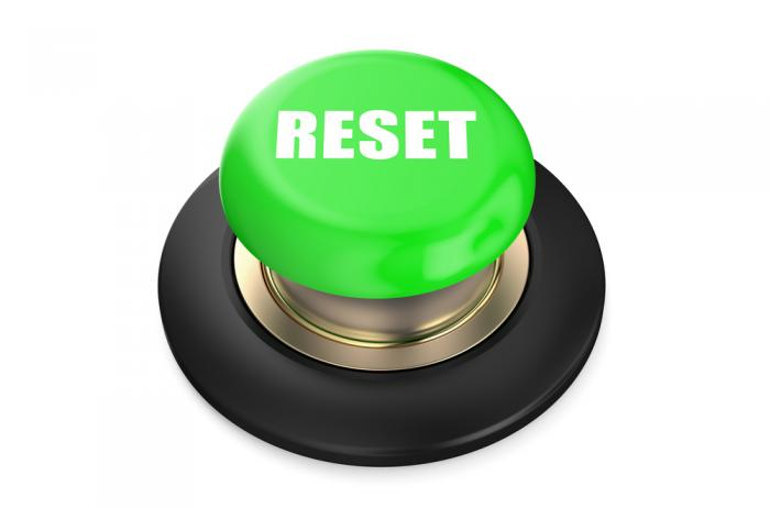 Don't give up. Press RESET and start over.