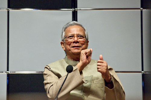 Yunus: Re-Orienting Micro-Credit for People, Not Profit
