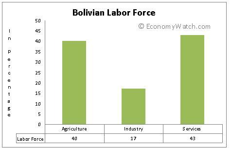 Bolivian labor force