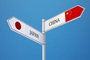 Japan and China hold summits to heat up a rivalry.