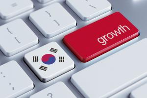 South Korea's growth is relying more on its export sector.