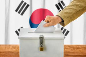 Time to vote in South Korea, but the results may not matter.