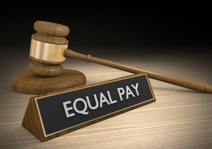 The gender pay gap may be helped by pay transparency.