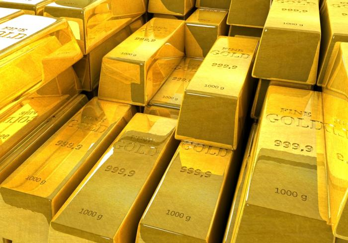 Perhaps the falling price of gold means the end of the financial crisis.