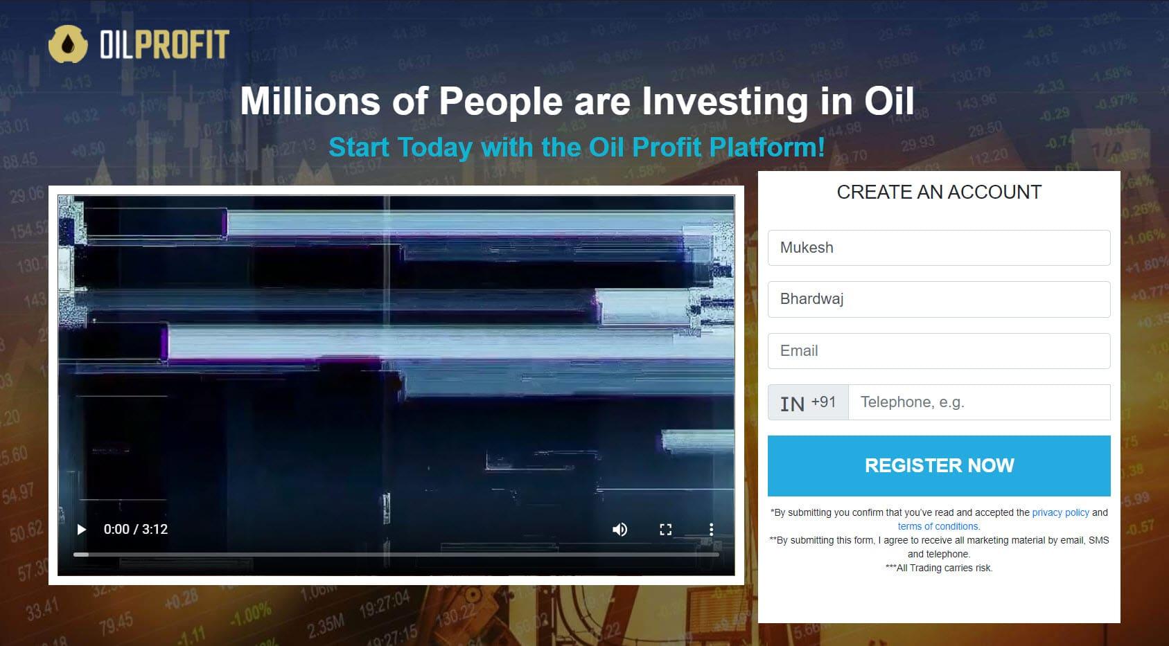 oil profit