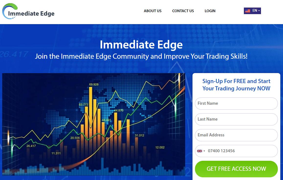 Immediate Edge - Home