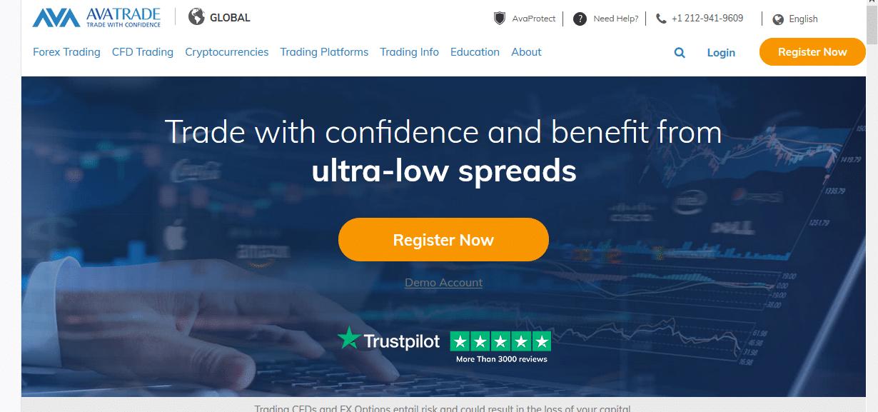 AvaTrade website June 22