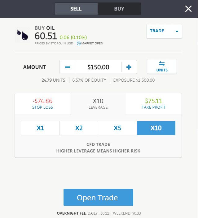 Select an Asset to Trade