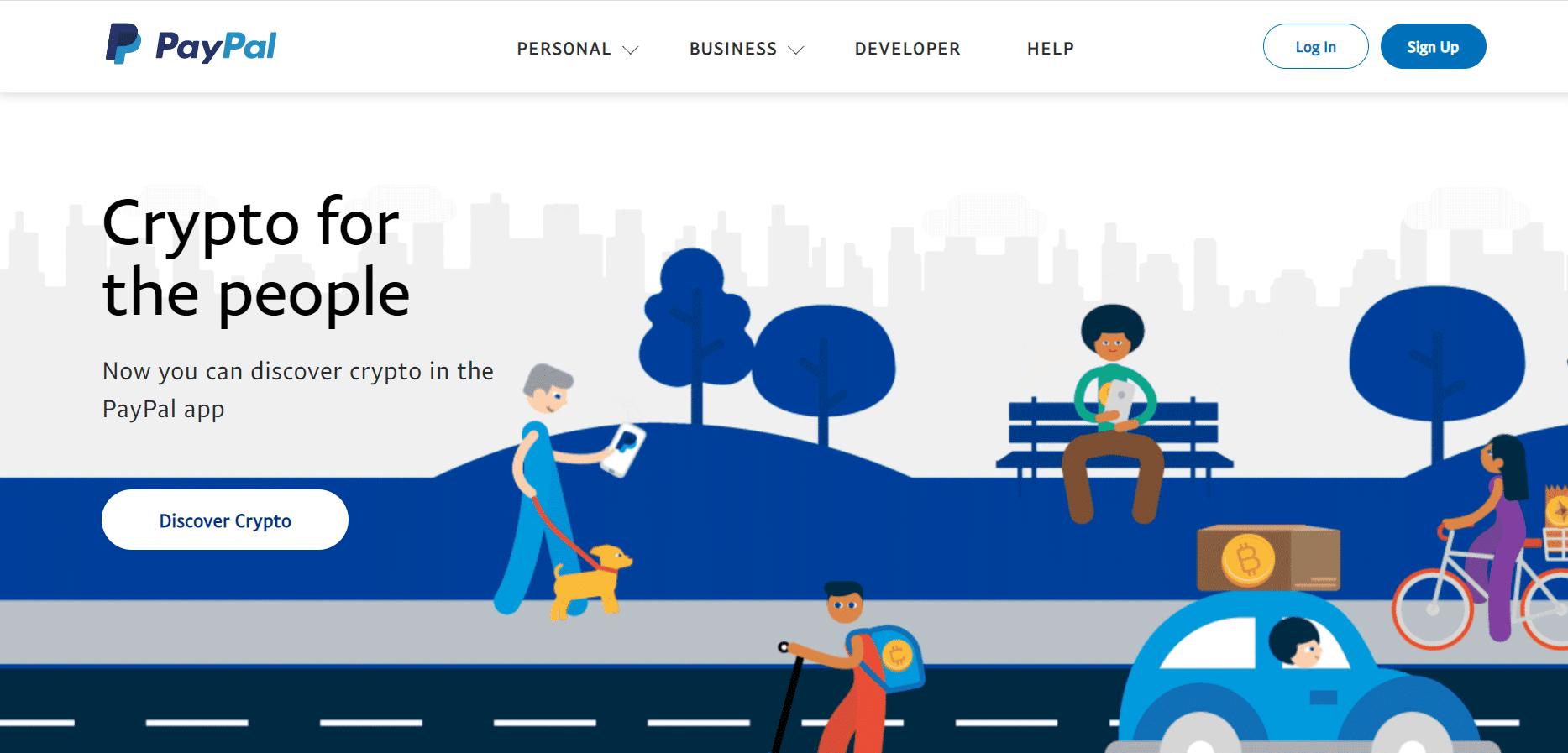 PayPal website