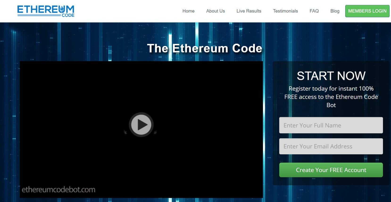 Ethereum Trader