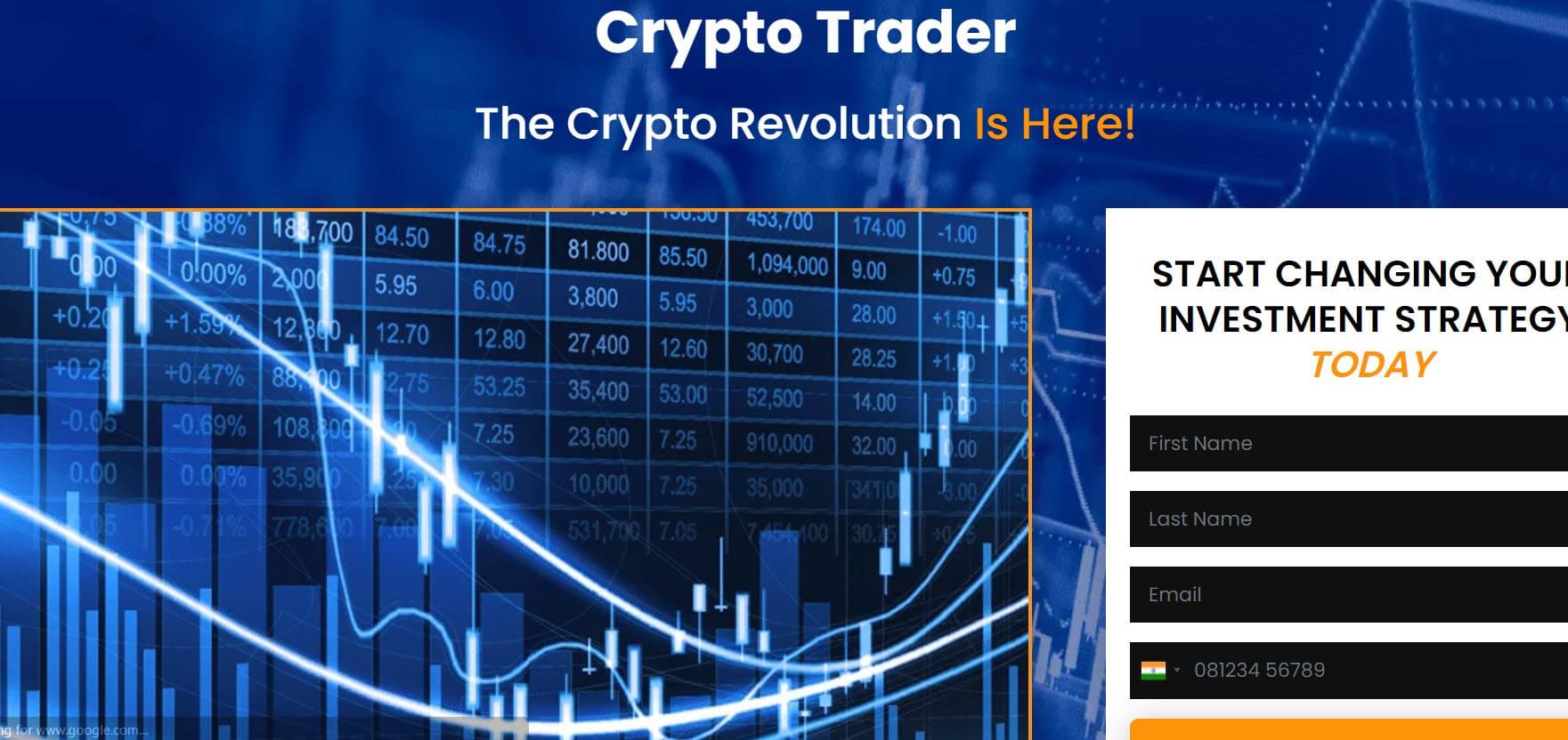 Attenzione! Crypto Trader - truffa o funziona?