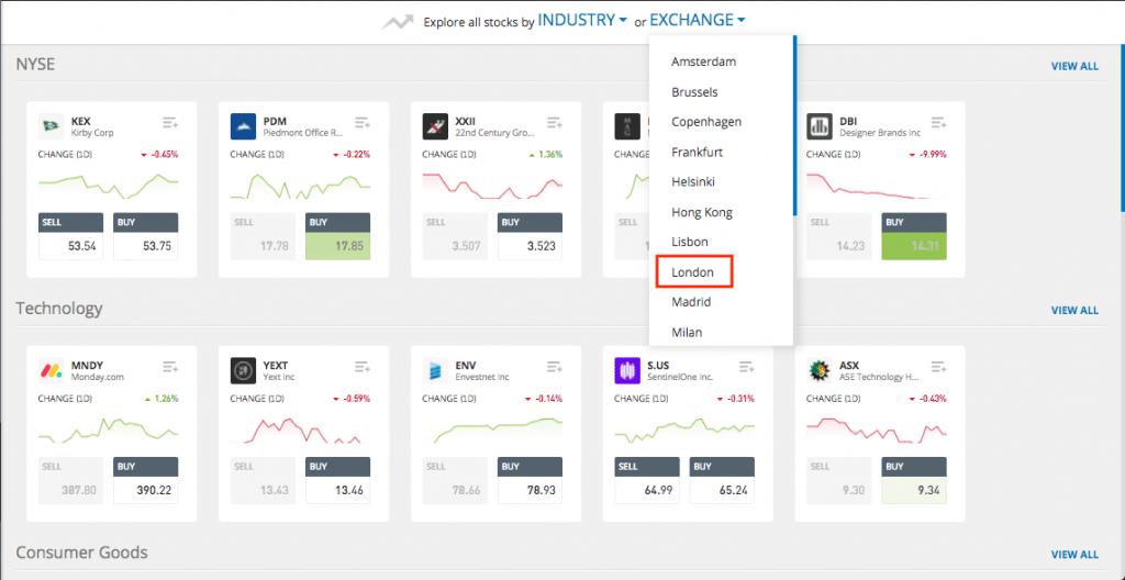 buy stocks in etoro