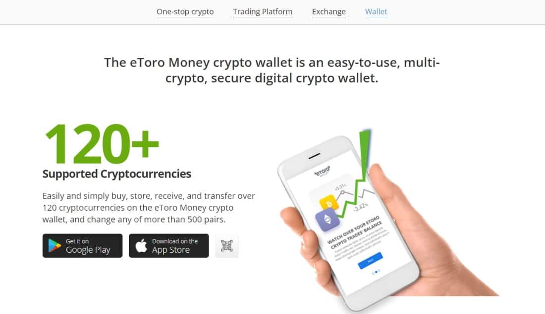eToro money crypto wallet