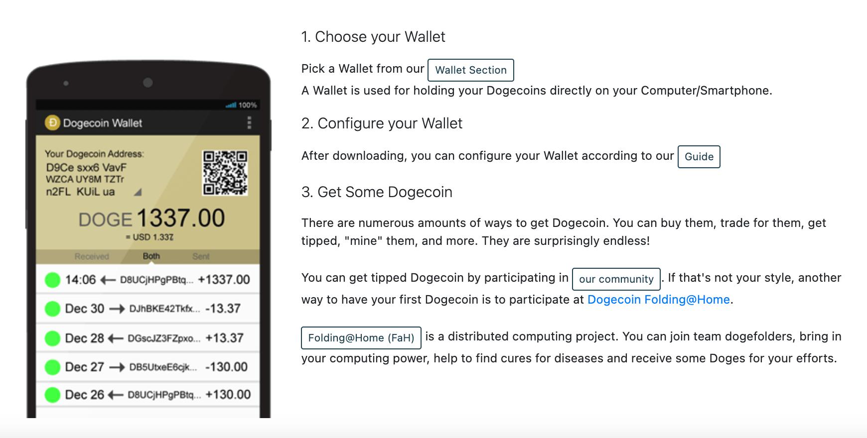 dogecoin wallet