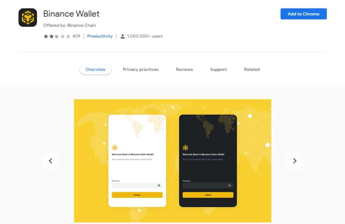 Best Bitcoin wallet in 2021 is the Binance Wallet