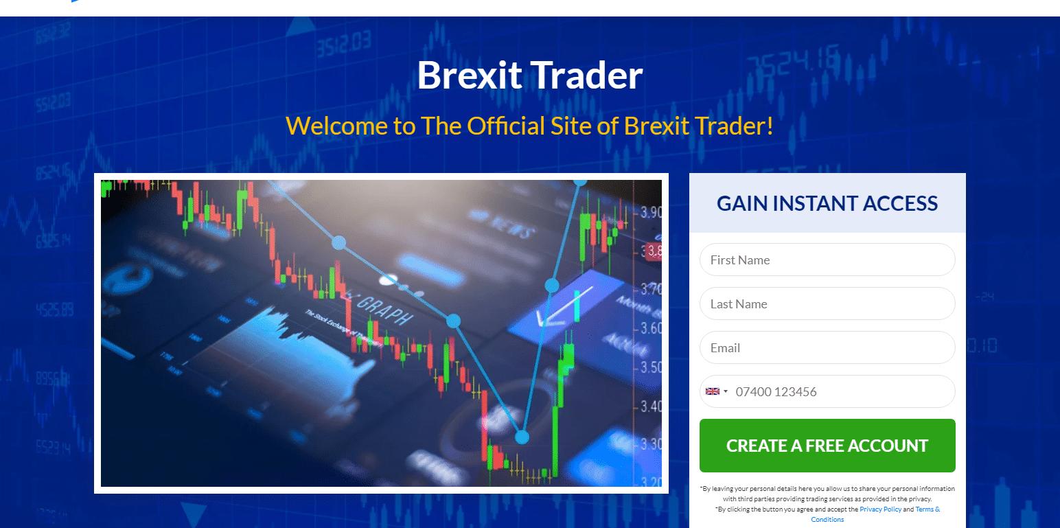 Brexit Trader Review è legale o è una truffa? Iscriviti ora!