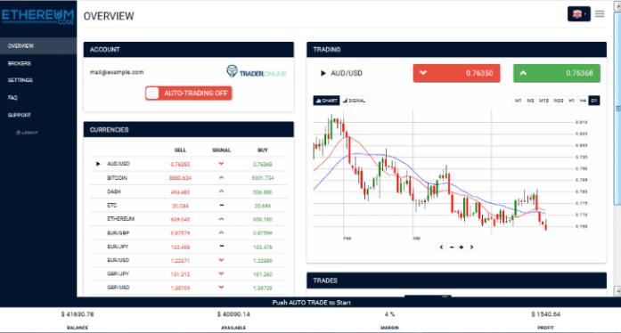 la piattaforma di trading di crittografia open source