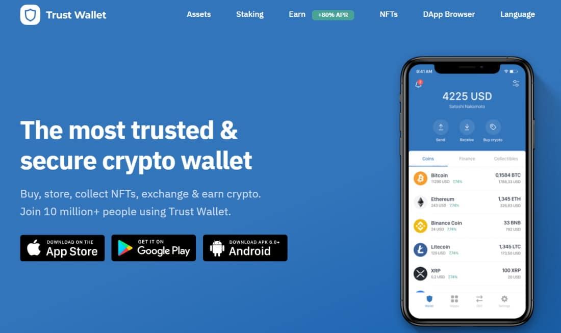 Best Bitcoin wallet - Binance Trust Wallet
