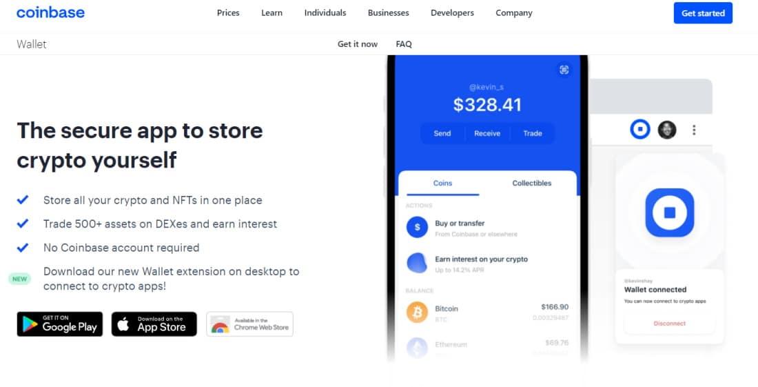 Best Bitcoin wallet - Coinbase