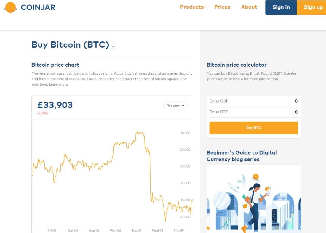 Coinbase alternative CoinJar