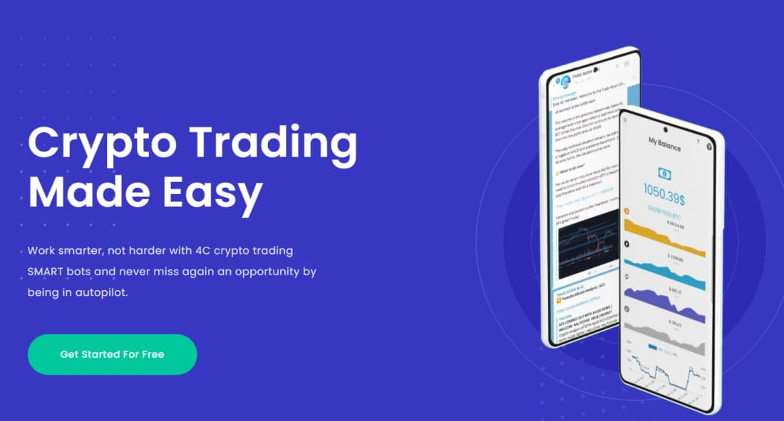 Crypto signals provided by 4C Trading