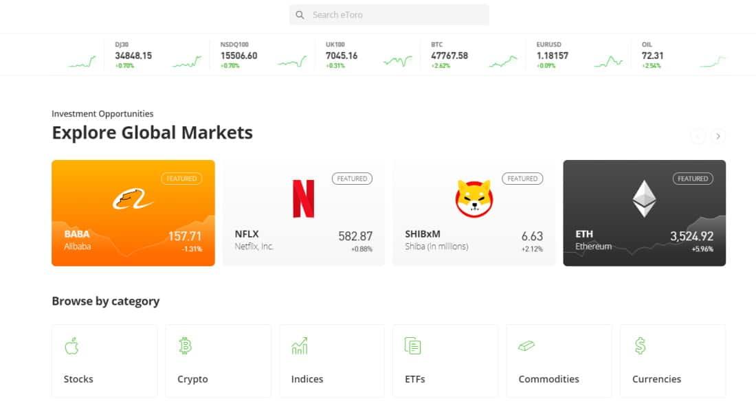Best trading robot - eToro offers copy trading tools