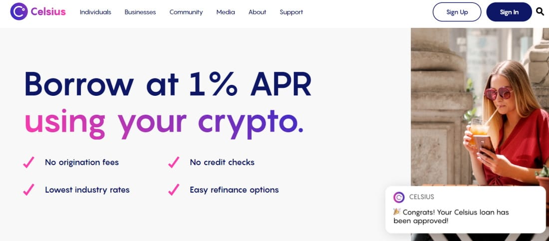 Best Bitcoin Loans with Celsius
