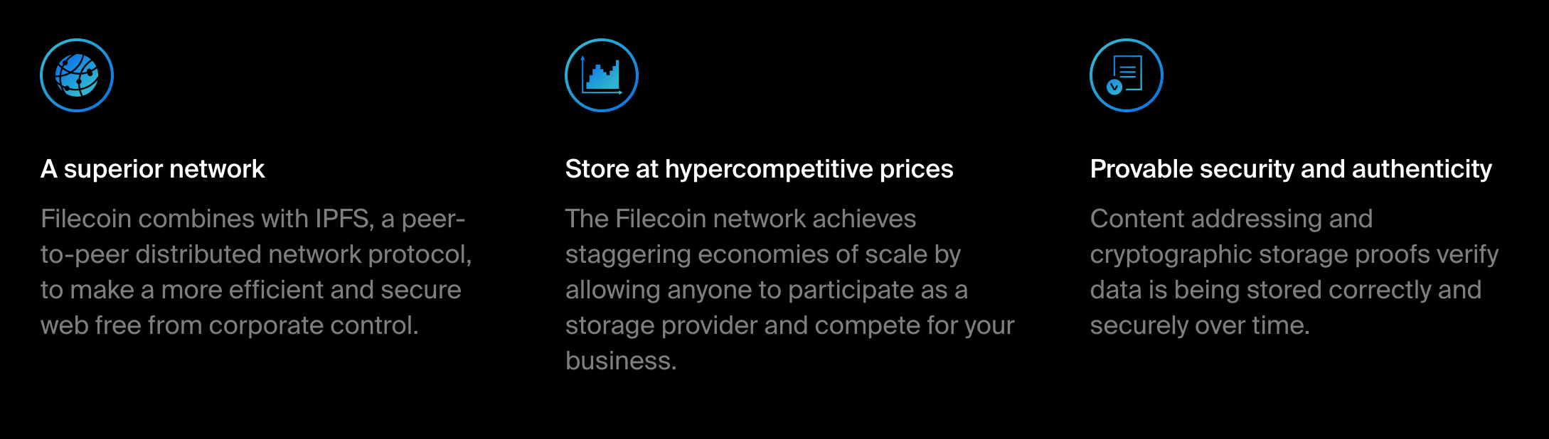 Filecoin price forecast