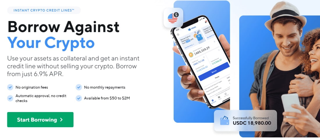 Nexo - Best Bitcoin Loans