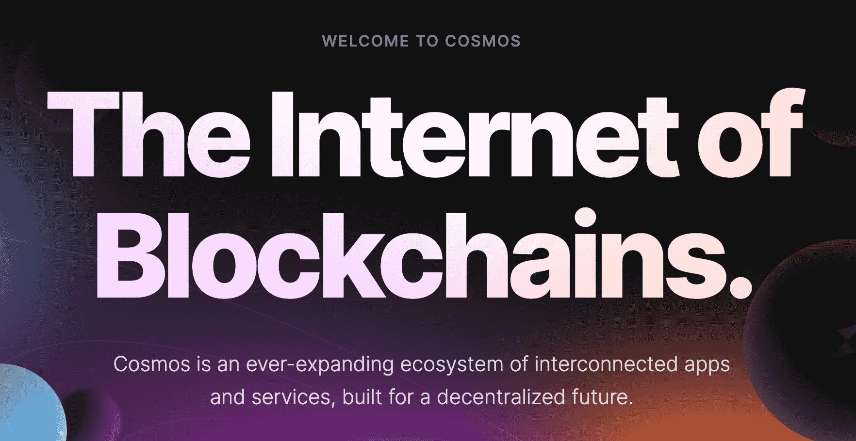 COSMOS ecosystem